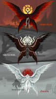 Halloween Dogma Adoptables Auction (CLOSED) by HeavenAndHellAdopts