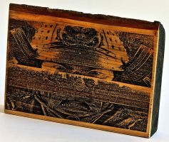Samurai WoodPic by WoodBoxEdition