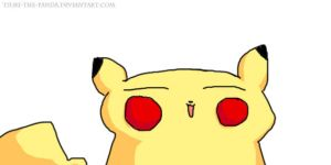 Pikachu - now without tablet - by RandomMutiny