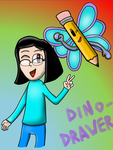 Happy Birthday Dino-drawer by leonardoxy