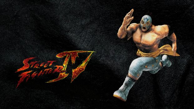 Street Fighter IV Fuerte wide by ManeFunction