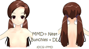MMD: Neat Bunchies by Chibi-Baka-San