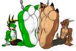 Balloon Pawfeet Buddies - by Darcell1291 by McTaylis