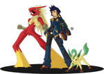 pokemon trainer by Genso-x