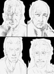 Icons of the Past WIP by PeterPalmiotti