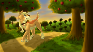 Appledog - Through the Orchard by Shiloh-Tovah