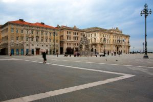 City square by olgaFI