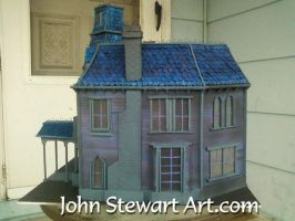 Addams Family scratchmade model for sale by johnstewartart