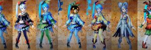 Hyrule warriors series Lana by isaac77598