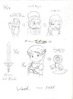 Elise Reboot Doodles 2 by Son-Void