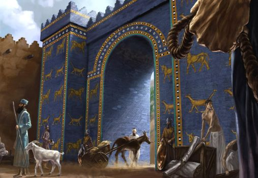 Ishtar Gate by Clooms