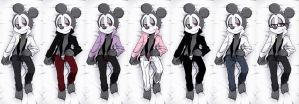 Chose your Count Mickey XD by hentaib2319