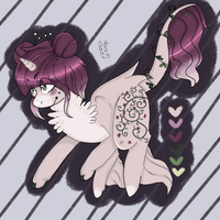 very special adopt OPEN by XxPinkiePaintAdoptxX