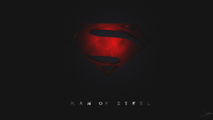 Man of Steel - Black and Red version by Dreed-06