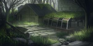 Forest Outpost by Howi3