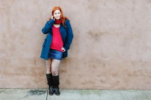 Amy Pond - Flirty by moonflower-lights