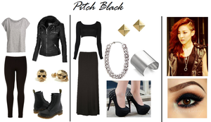 Rise of the Guardian: Pitch Black Inspired Outfit by RockerChic21