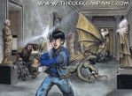 Percy Jackson: Book 1, Ch.01 by TheGeekCanPaint