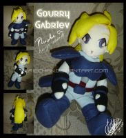 Kurage Plushie AKA Gourry :D by eERIechan
