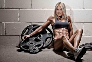 Jennifer Aniston Fitness by LauraJoKover