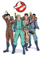 ghostbusters ilustration by myroboto