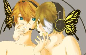 MAGNET Kagamine LenxOliver by Rocket713