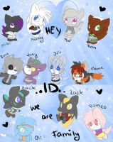 .:my charas:. ID by AshleyShiotome