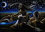 Desert Colossus ACEO by FuzzyAcornIndustries
