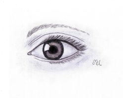 What's in the eye? by moniLainLP