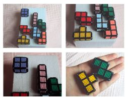 Tetris pieces: medium sized by Alondra-chui