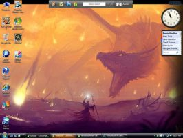 Dragon Desktop by Archanubis