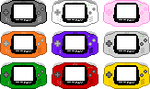 Gameboy Advance Pixel-Art by AloneAgainstPixels