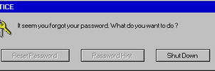 Password Error Message by Dragonartist94