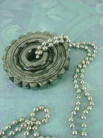 Cog Necklace by monsterkookies