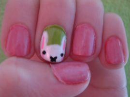 Easter 2012 Nails! by ChloeCat3