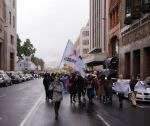 Wet in Darling Street - UAC March, Cape Town by AfricanObserver