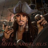 Jack Sparrow-Bad Guy by Mitia-Arcturus