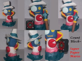 Count Bleck Clay Figure by sonicluver101