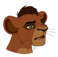 Kovu by LittlePuffin