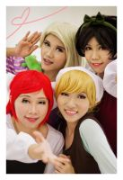 Disney: Princesses Selca by ki-ri-ka