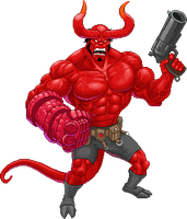 Hellboy by Real-Warner