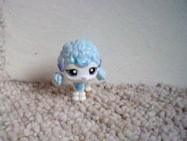 *RARE* LPS Stars Blue Poodle by ButchxButtercup1996
