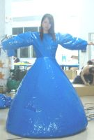 inflatable madam dress duplex by puncturegown
