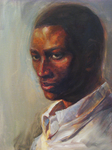 Day 2 - Oil Portrait by 2013