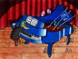 Tickling the Ivories by WalterRingtail