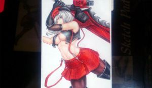 Alisa from God Eater by seiji0
