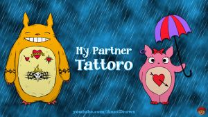 My Partner Tattoro by AnutDraws