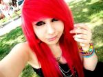 in red hairs by VerenaLove