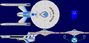 USS Belknap Multi-View by captshade