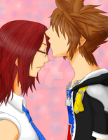 -- Sokai: Forehead Kiss -- by Kaishiru
